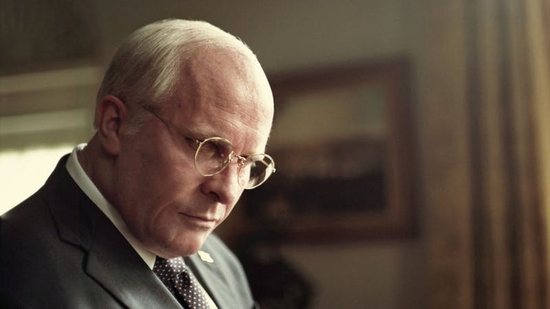 Christian Bale does fantastic work as Dick Cheney in an unrecognizable role.