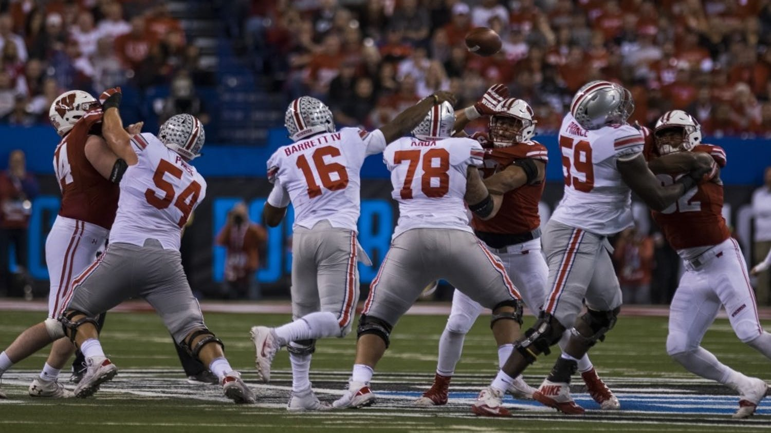 Wisconsin lost its pivotal contest at the hands of J.T. Barrett, but there will always be hope for next year.