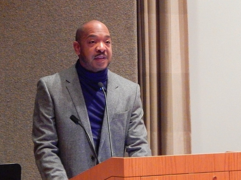 Roderick A. Ferguson spoke at UW-Madison Thursday about black radicalism on college campuses.