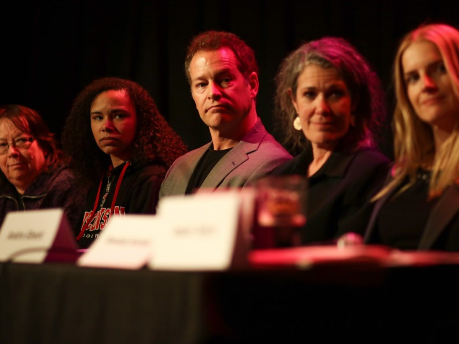 ASM Legislative Affairs Chair Carmen Gosey (second from left) said she plans to lead an affordable housing campaign.