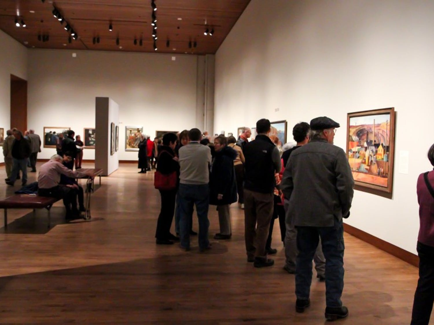 The Chazen offers one of the best spaces on campus for students to see incredible work.