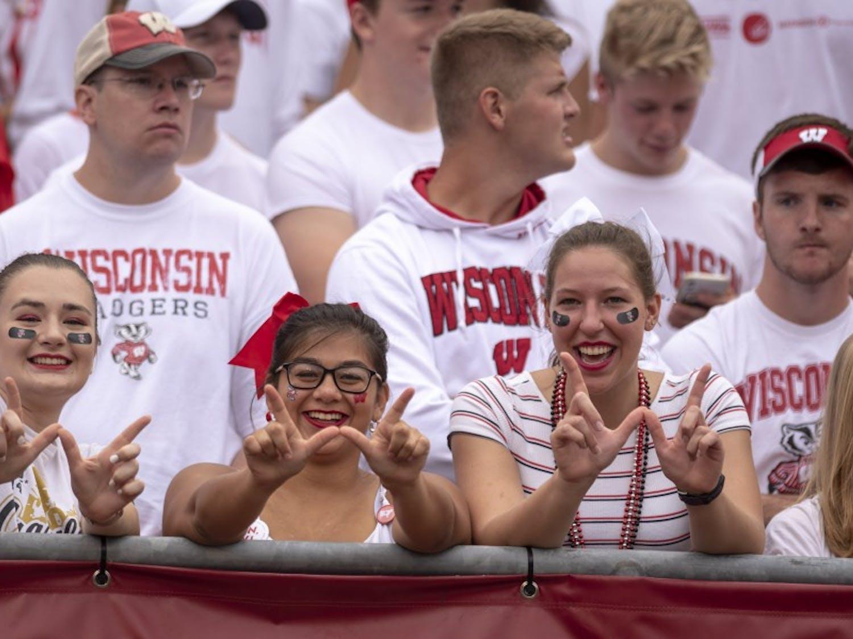 Thrift it, borrow it, buy it or donate it — as long as it's Wisconsin red, it will do.