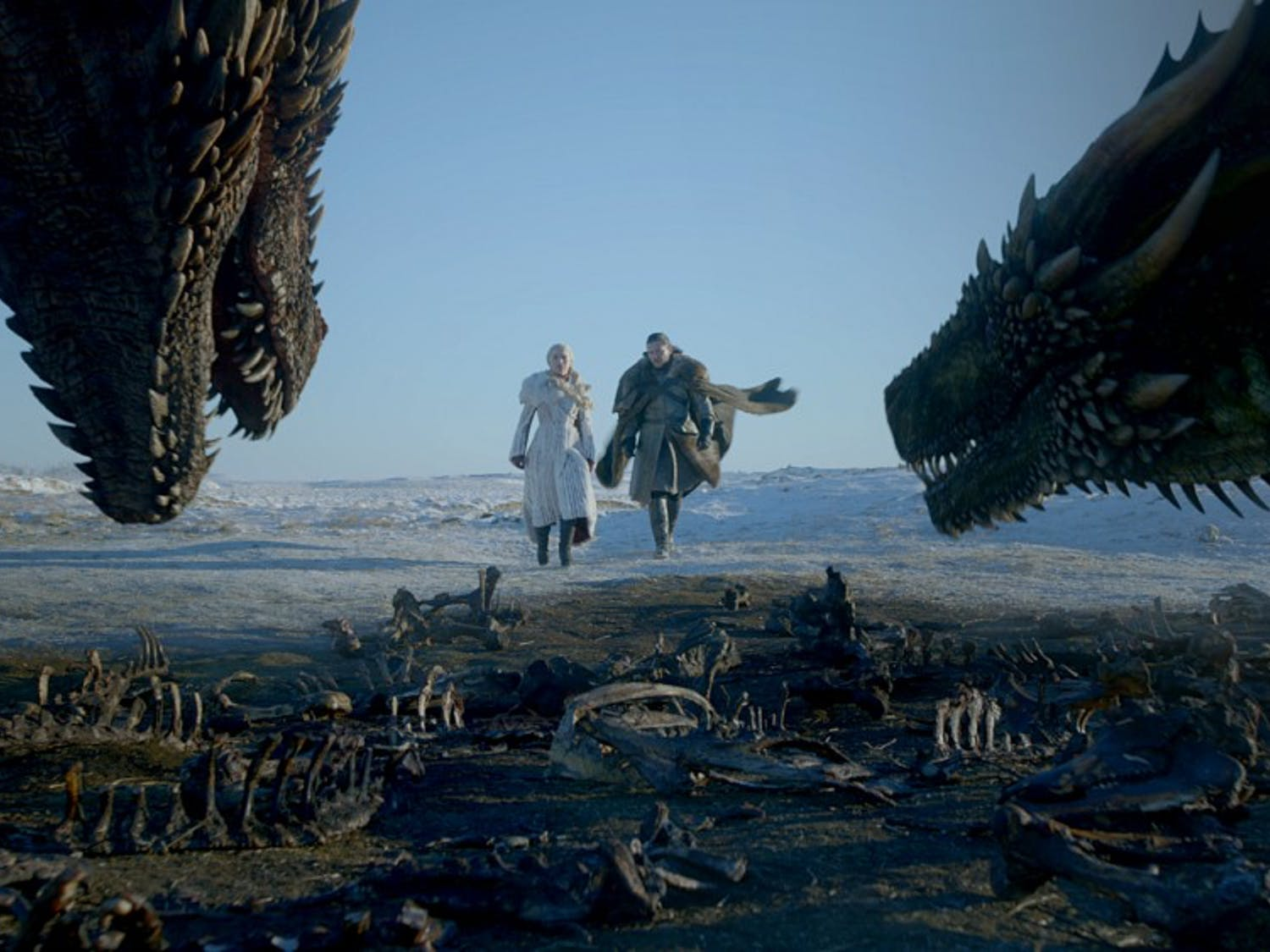"""""""Game of Thrones"""" season eight episode one returned with a bang this past Sunday night, reuniting characters and revealing who has the right to the Iron throne."""