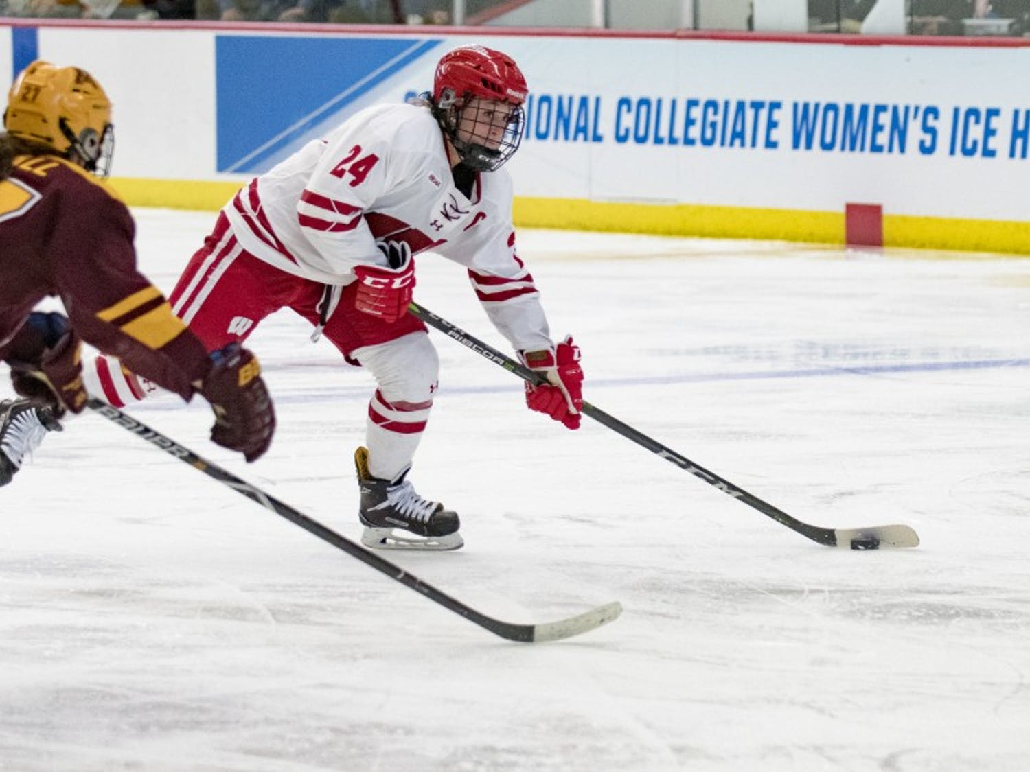 Senior co-captain Claudia Kepler had to sit out Wisconsin's Frozen Four run last season. She's hoping to bring back a title to Madison this year as UW readies for the Frozen Frour.