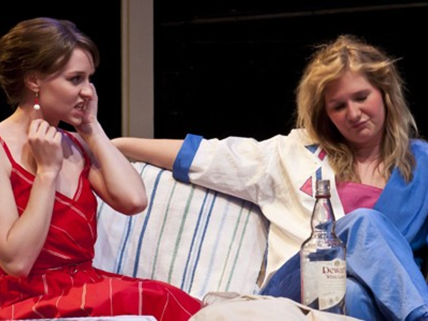 "The ""Female Odd Couple"" is the story of two incompatible roommates, Florence and Olive. The play, co-produced and directed by the Undergraduate Theatre Association, will be performed in the Hemsley Theatare."
