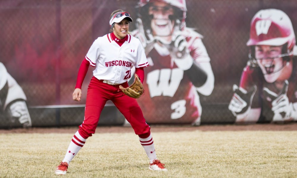 Gabby Scherle, who grew up on a farm in Iowa, now majors inagricultural business management at Wisconsin.
