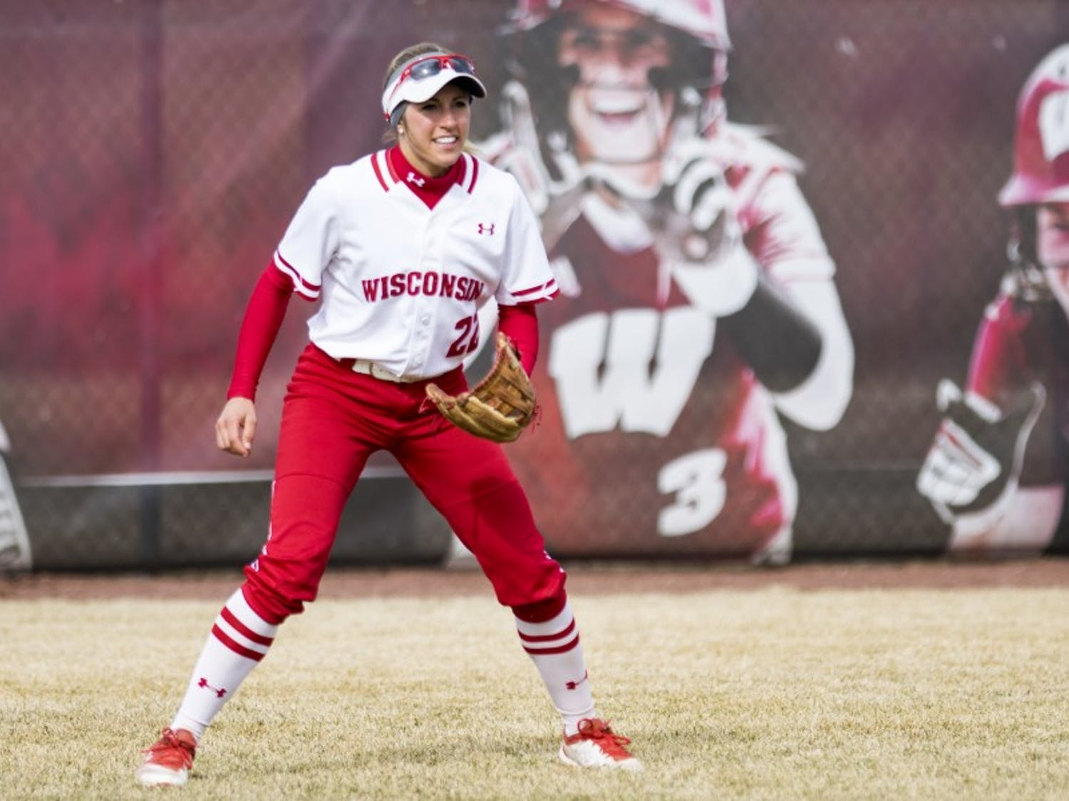Gabby Scherle, who grew up on a farm in Iowa, now majors in agricultural business management at Wisconsin.