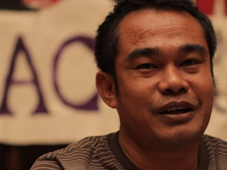 Former adidas worker Aslam Hiyadat