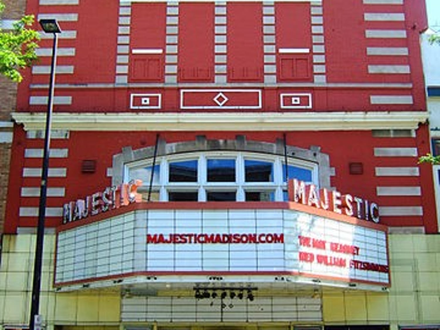 COIN made their Madison debut at the Majestic Theatre on Sunday.