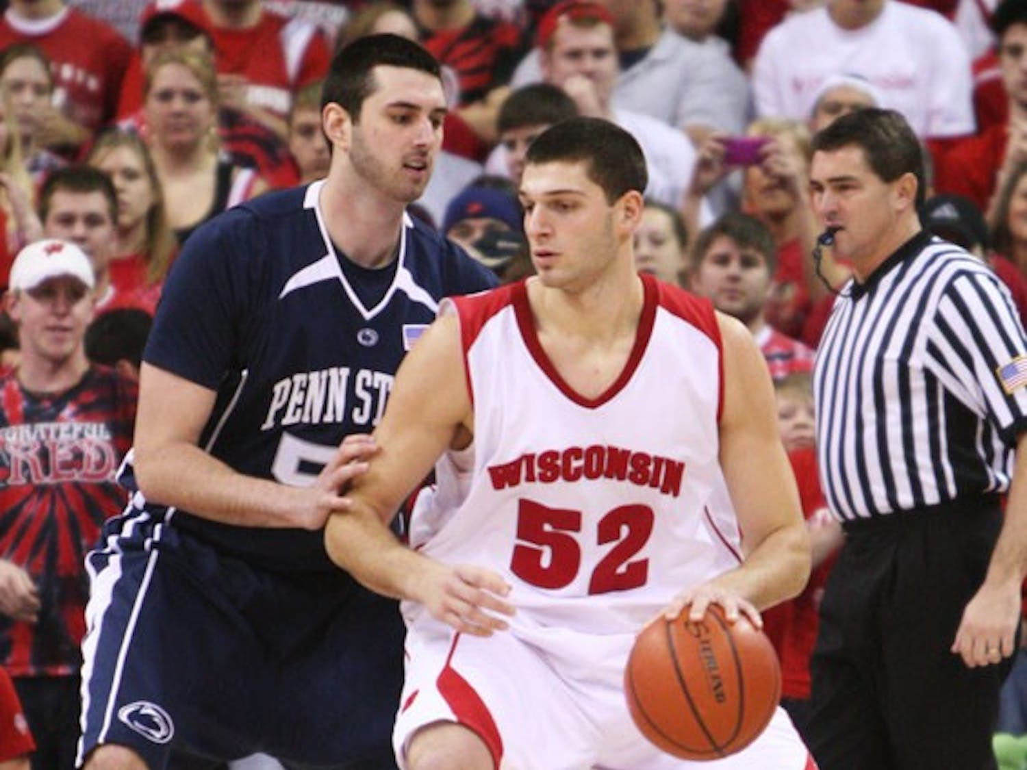 Badgers survive scare at the hands of Penn State