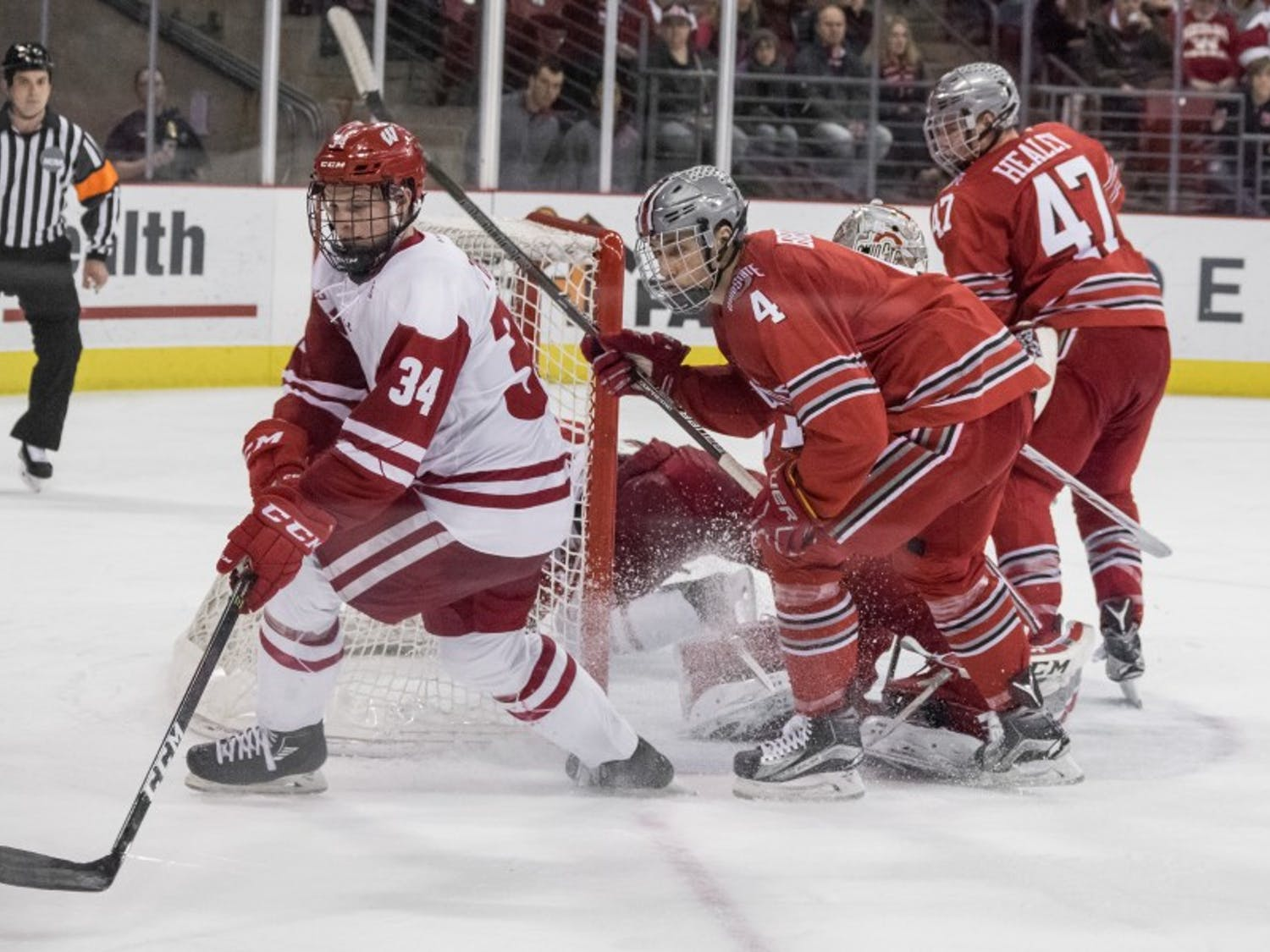 Trent Frederic has not been as dominant as many predicted thus far in his sophomore season. If Frederic can respond and pick up some offensive momentum, the Badgers will likely earn a sweep this weekend against Michigan State.