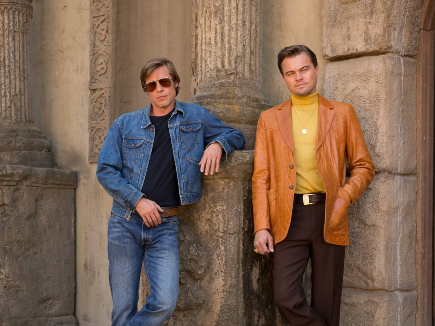 """Brad Pitt and Leonardo DiCaprio star in Quentin Tarantino's """"Once Upon a Time in Hollywood""""."""