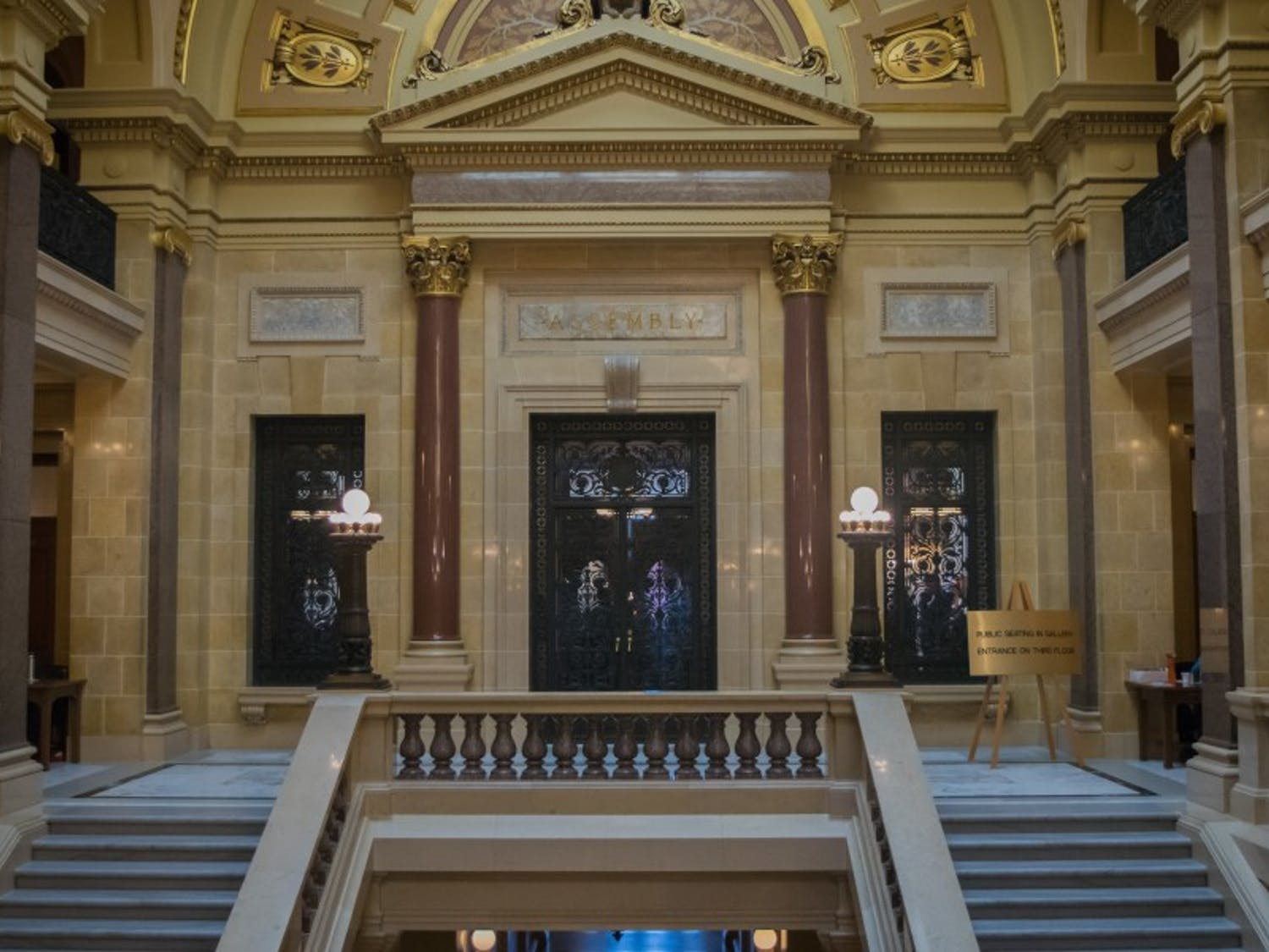 The state Assembly approved the state's two-year, $75.7 billion budget Wednesday.