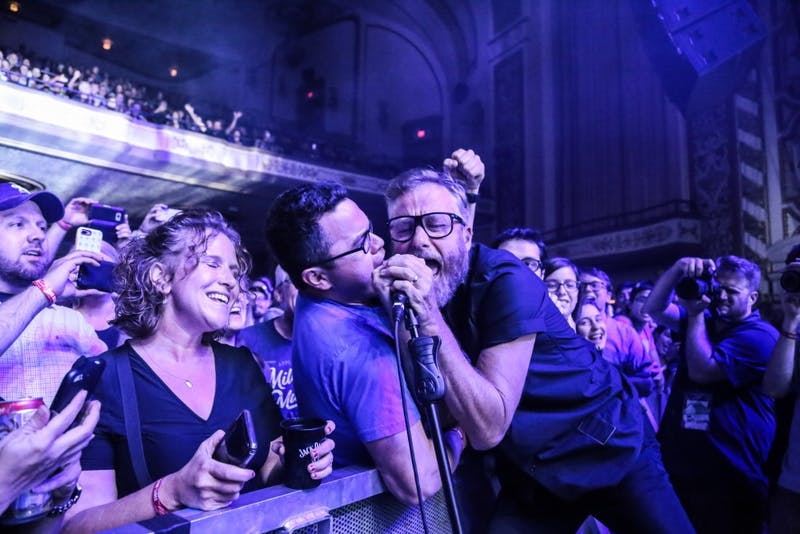 The National's set at the Orpheum last week was filled with fan favorites and enthralling vocalsfrom lead singer Matt Berninger.