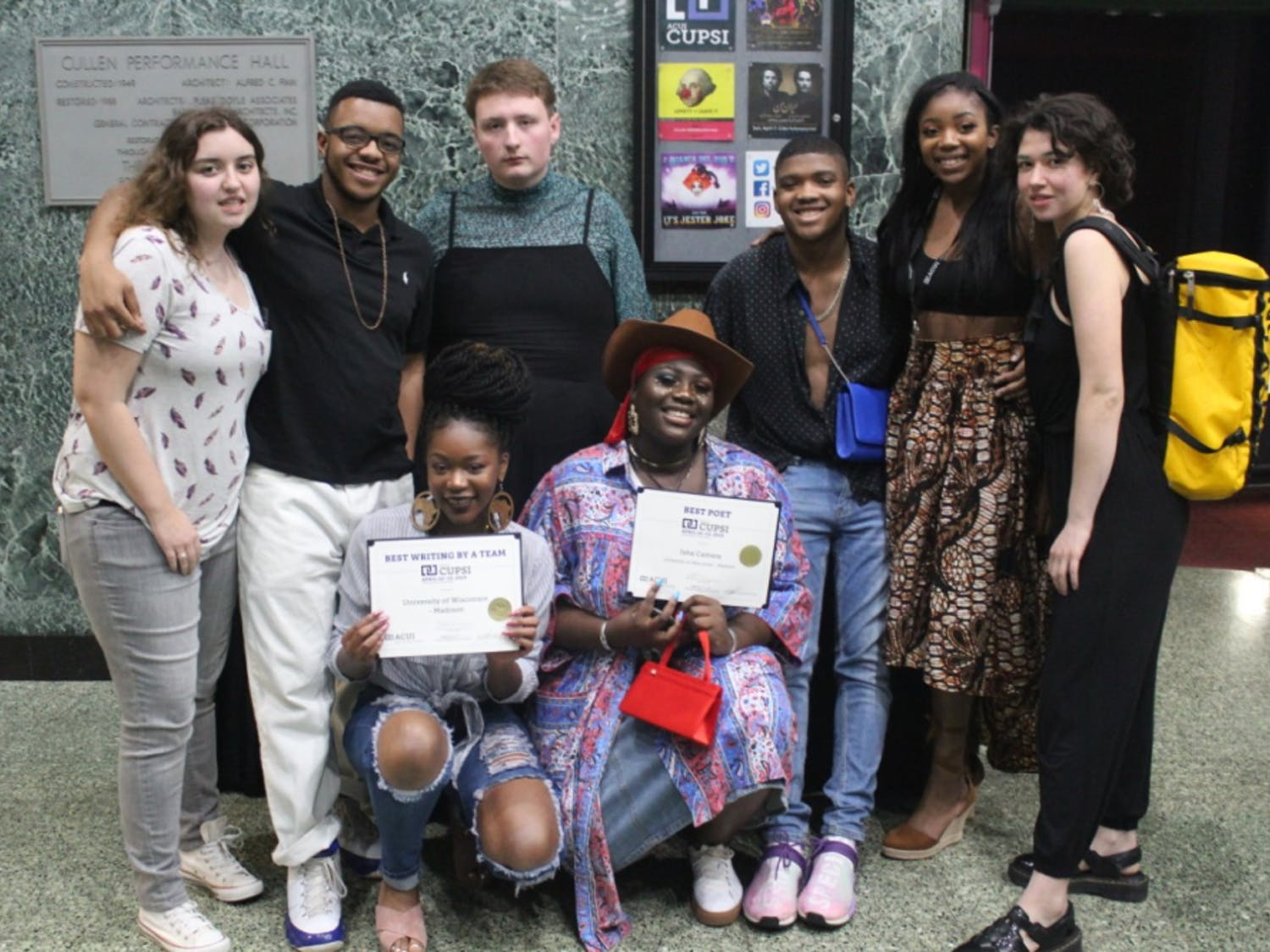 After months of preparation, students share competition success and reflect on the importance of poetry on campus.