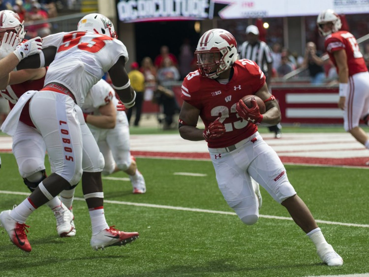 Despite a big game for sophomore Jonathan Taylor, the Badgers fell to Penn State 22-10.