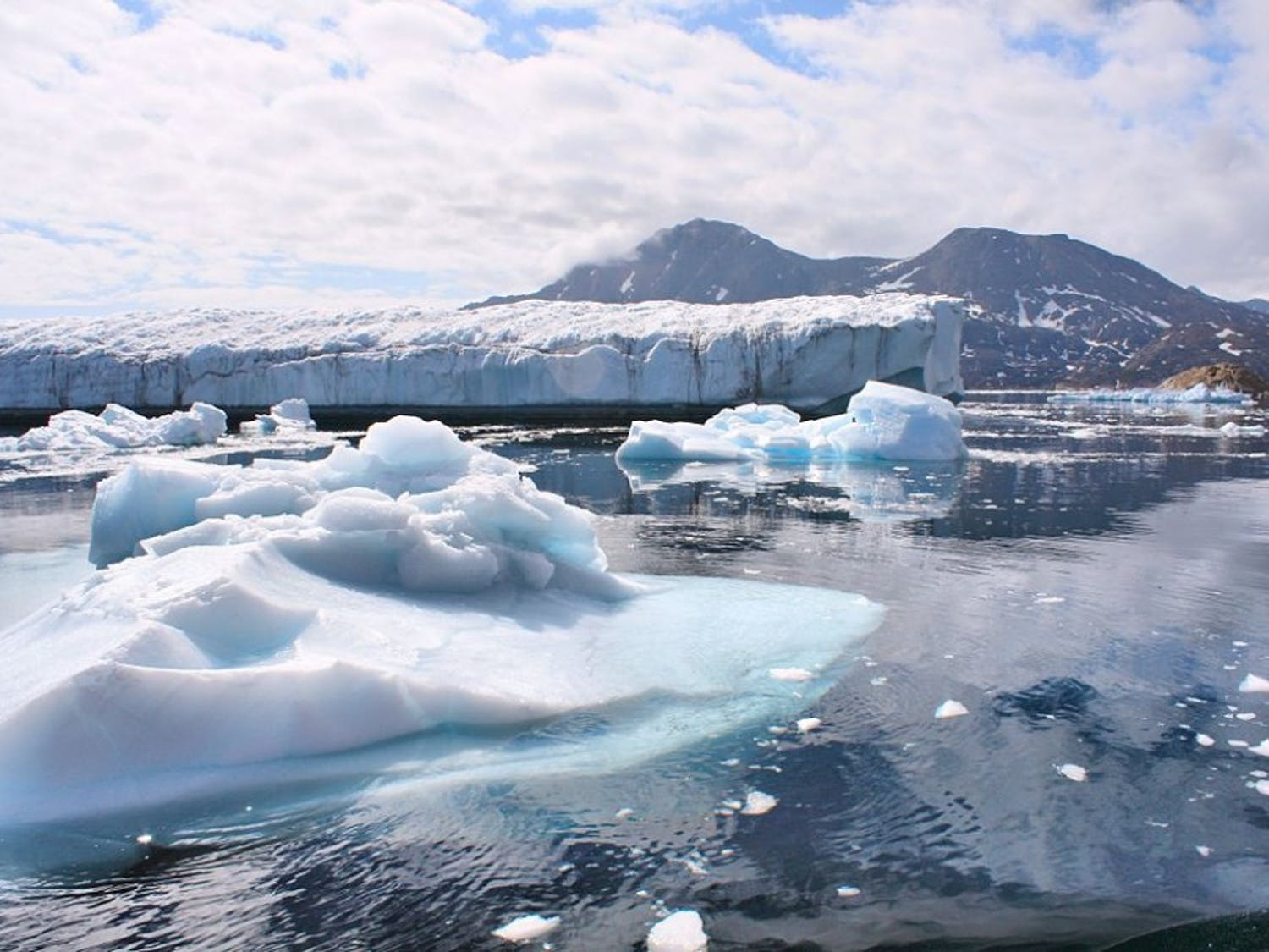 One of Tristan L'Ecuyer's interests lie in the melting and thermal energy balance of the Greenland ice sheet and its effects on climate change.