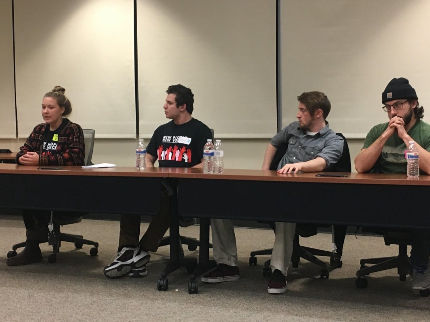 """During a panel discussion Associated Students of Madison Legislative Affairs Committee Chair Sally Rohrer said allowing students to opt out of allocable segregated fees would be """"a disaster."""""""