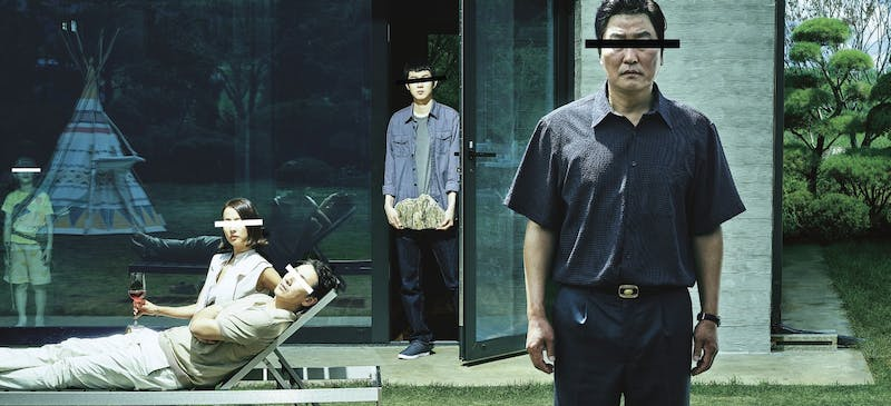 "South Korean film ""Parasite"" invites you in and captivates your attention from start to finish."