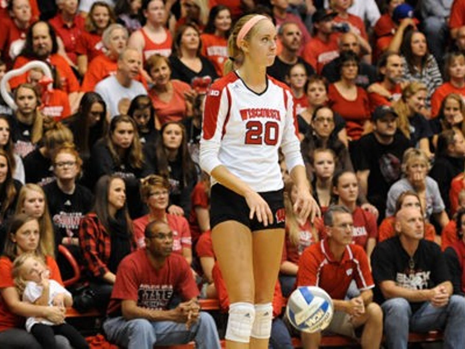 Despite leading the Badgers with 13 kills, senior outside hitter Ellen Chapman could not lead Wisconsin to a win over Penn State Wednesday in a rematch of last year's national title game.