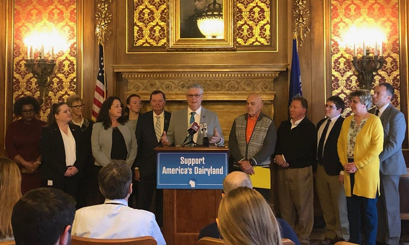 In a press conference Tuesday, Democrats provided more details for Gov. Tony Evers' plan to improve agricultural and rural communities before the special session starts Thursday.