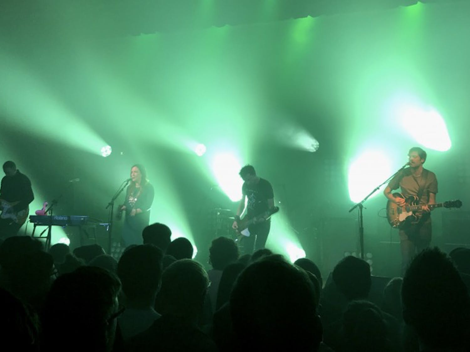 Slowdive's showmanship illustrated the benefits of listening to live music.