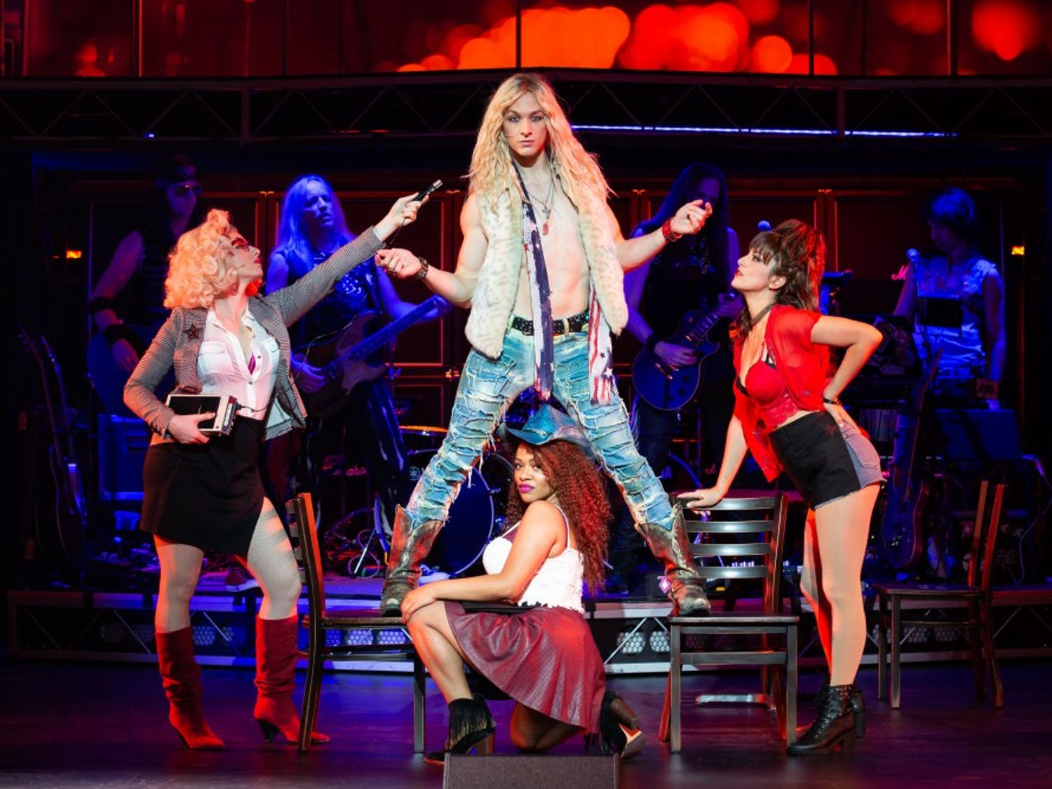 """Glorified 80s rock 'n' roll takes the audience back in time at the Overture Center on Feb. 7 as part of the Broadway's tenth anniversay tour of the classic musical, """"Rock of Ages."""""""
