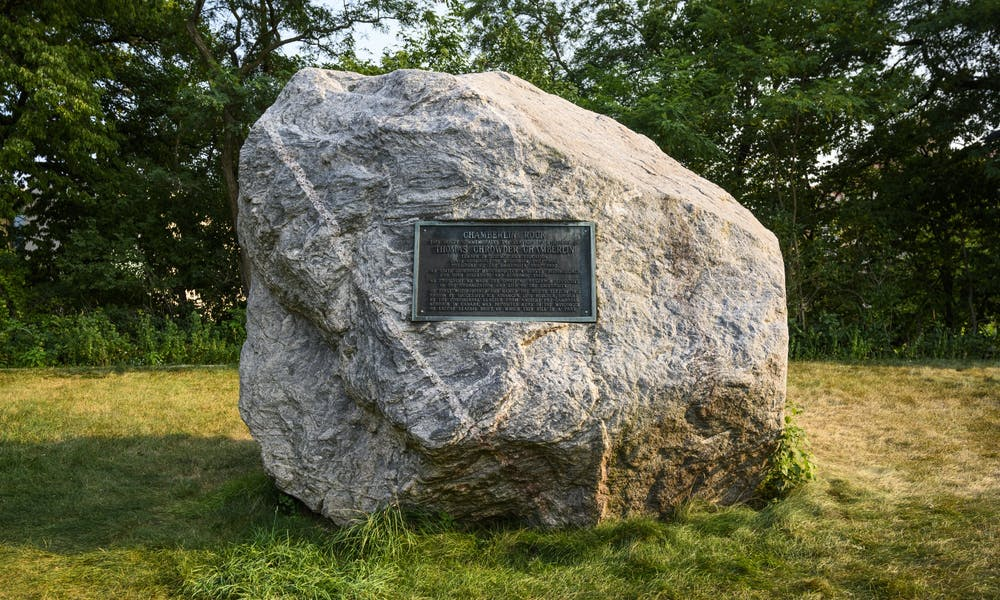 <p>The rock was commonly referred to by a racial slur from the 1920s through the 1950s and long served as a symbol of racial oppression in the UW community.&nbsp;</p>