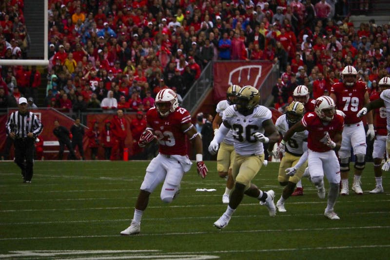 Jonathan Taylor ran for 224 yards and one touchdown in Wisconsin's 17-9 win over Purdue.
