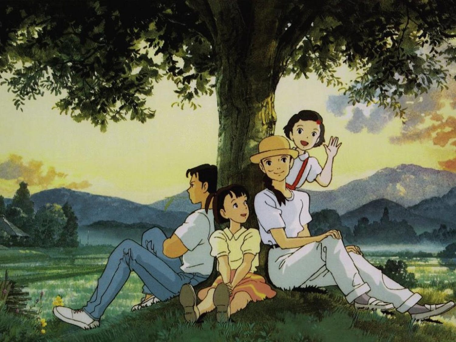 """""""Only Yesterday"""" by Isao Takashata was featured at the film festival."""