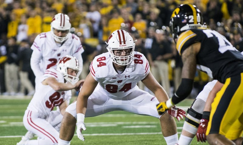 For the first time in four years the Badgers won't have Rafael Gaglianone to kick field goals.