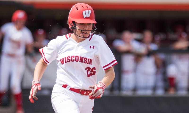 Jordan Little and the Badgers couldn't slow down a high-powered Wolverine offense Saturday.