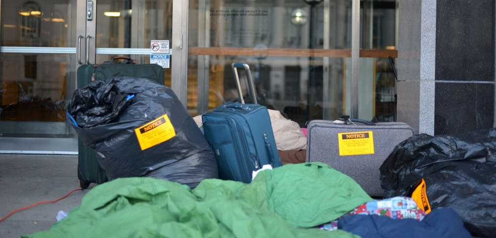 <p>The day center is planned to give Madison's downtown homeless community an opportunity to get access to laundry facilities, meals and other amenities. The center is set to open next October.</p>