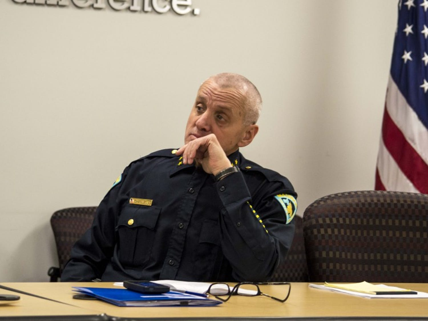 Former Assistant Police Chief Vic Wahl was officially appointed acting chief by Madison's Police and Fire Commission Monday after Mike Koval's resignation.