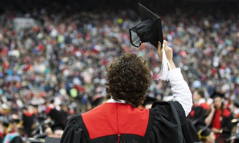 As the number of cases of the COVID-19 virus increases both in Wisconsin and across the United States, UW-Madison decided to postpone its spring commencement ceremony.