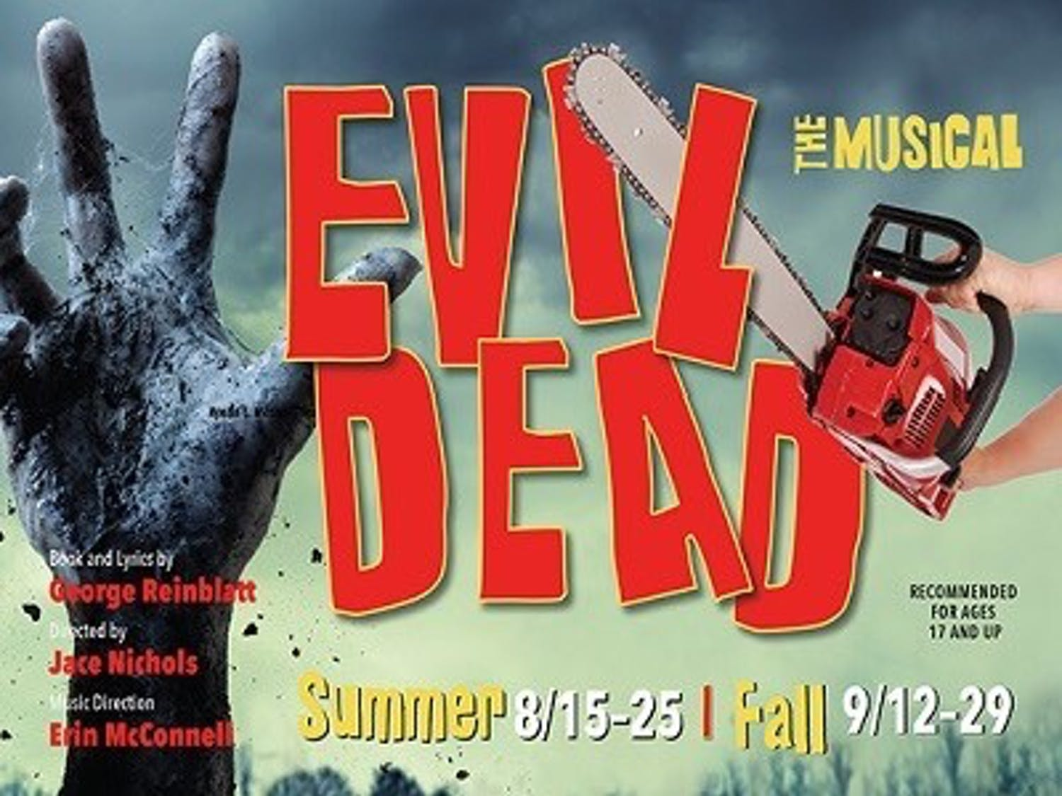 "A humor-filled battle with the undead set to music... can't beat that! Produced by the University's Theater and Drama Department, ""Evil Dead The Musical"" is promises to entertain."