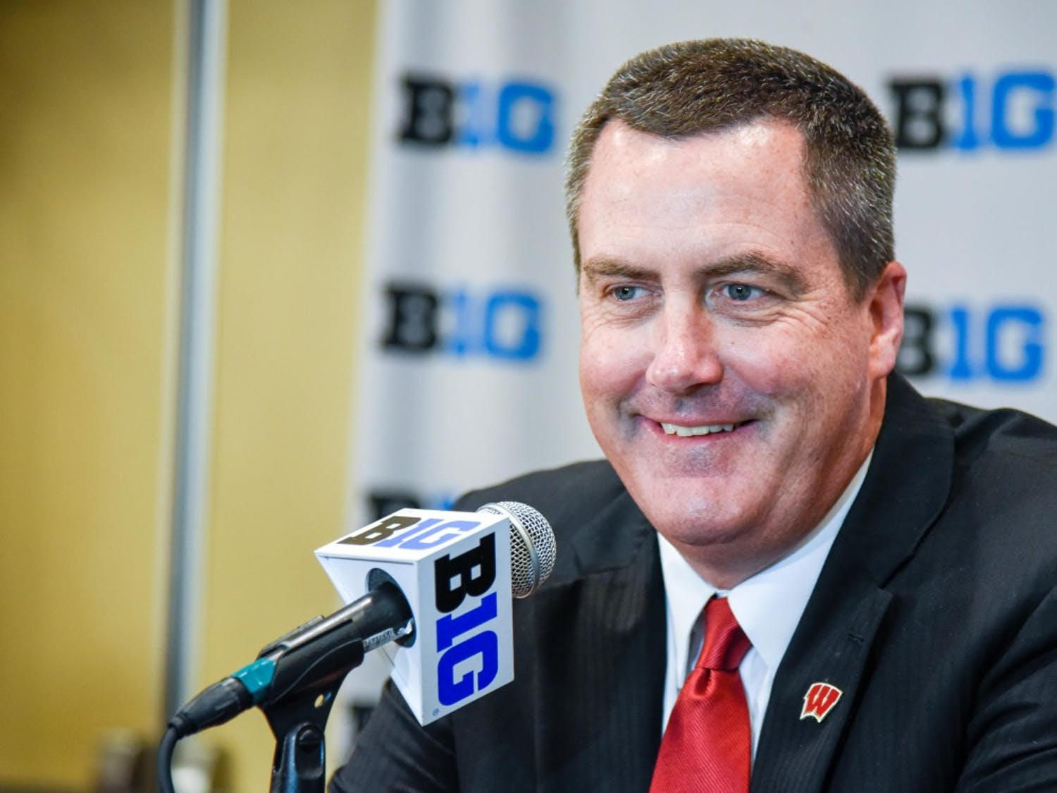 Paul Chryst has been inspiring his team to improve in the second half of games this season.