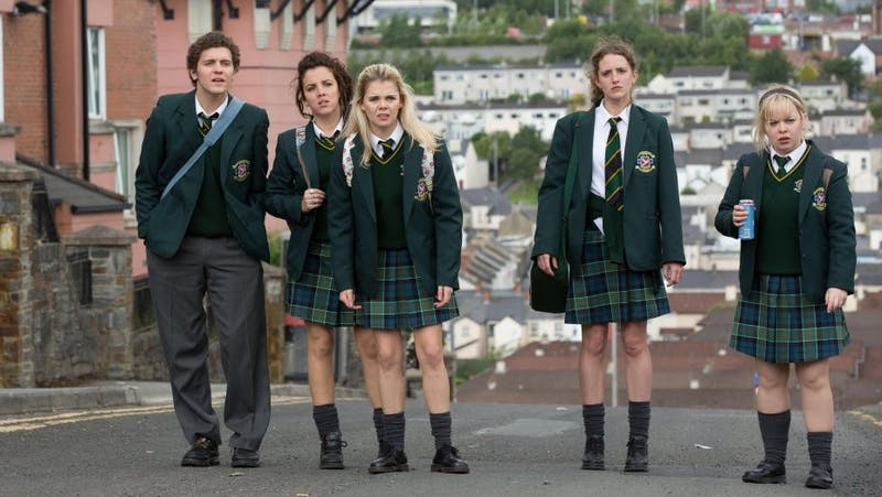 """""""Derry Girls"""" explores the various dynamics of familial and friend relationships that celebrate love and feminism."""