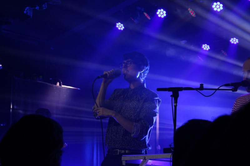 Joywave lead singer Daniel Armbruster had a quirky vibrancy that was clear from the start.