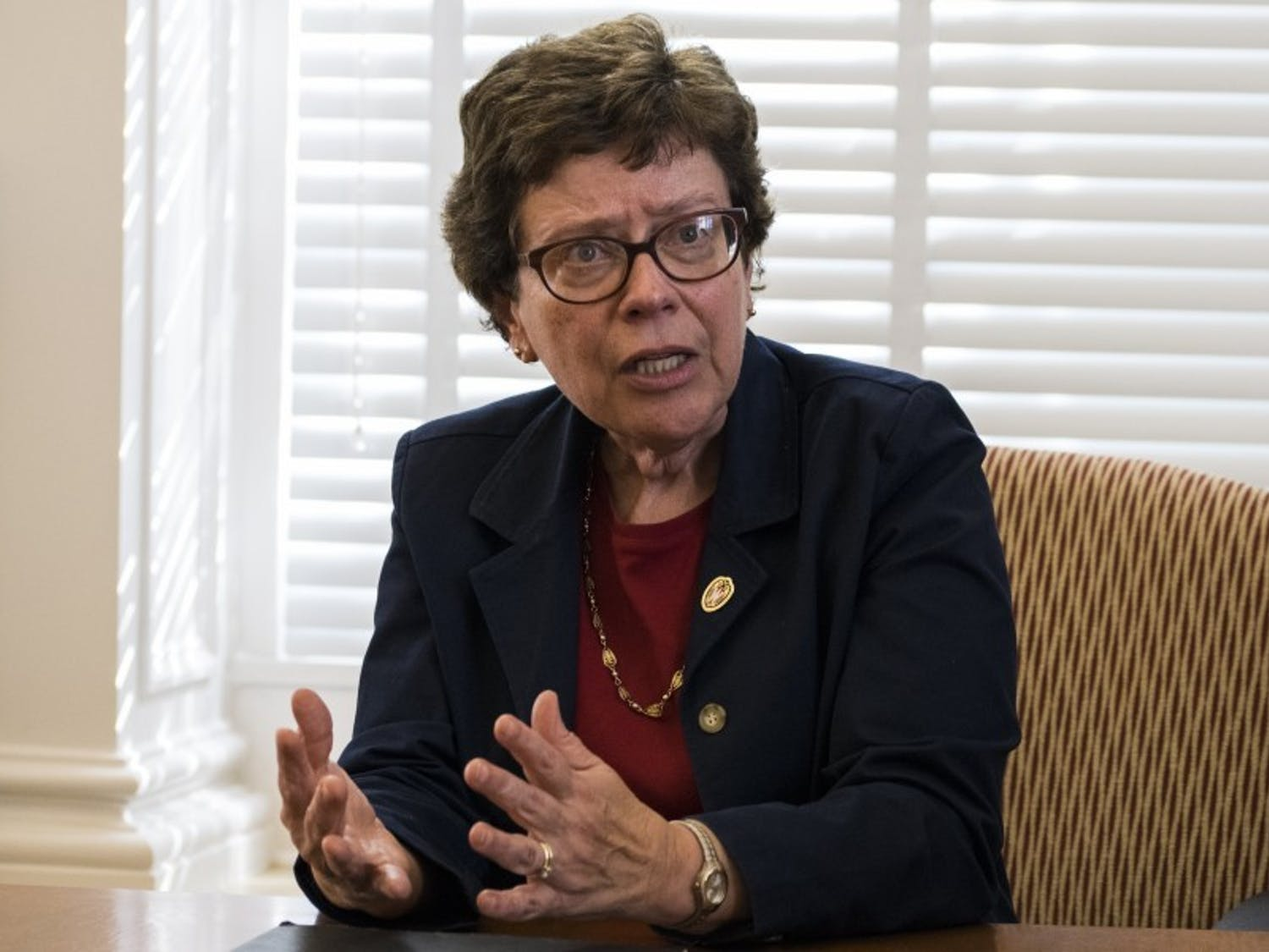 Photo of UW-Madison Chancellor, Becky Blank.