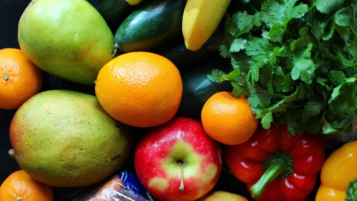 Fresh fruits, vegetables and nuts/seeds are the staples of any type of raw vegan diet.