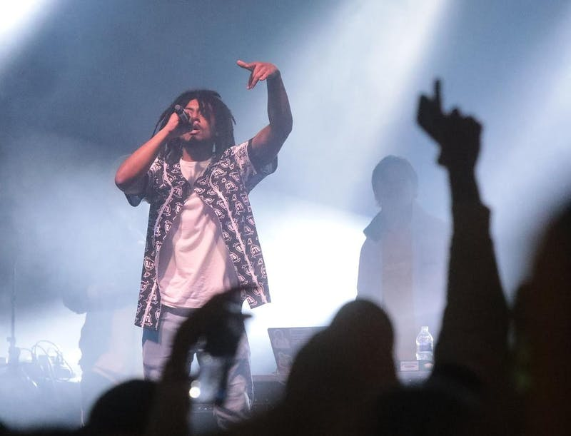 Hundreds of hip-hop fans gathered to hear Kenosha's own Alexander Kain, who opened for Lil Yachty at Freakfest.