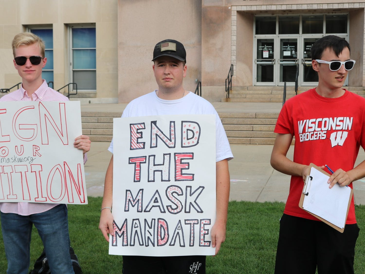anti-mask protest