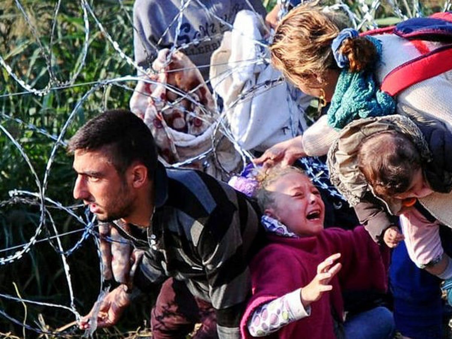 Refugees attempting to flee the war in Syria are met with scorn by the people of Europe and the U.S.