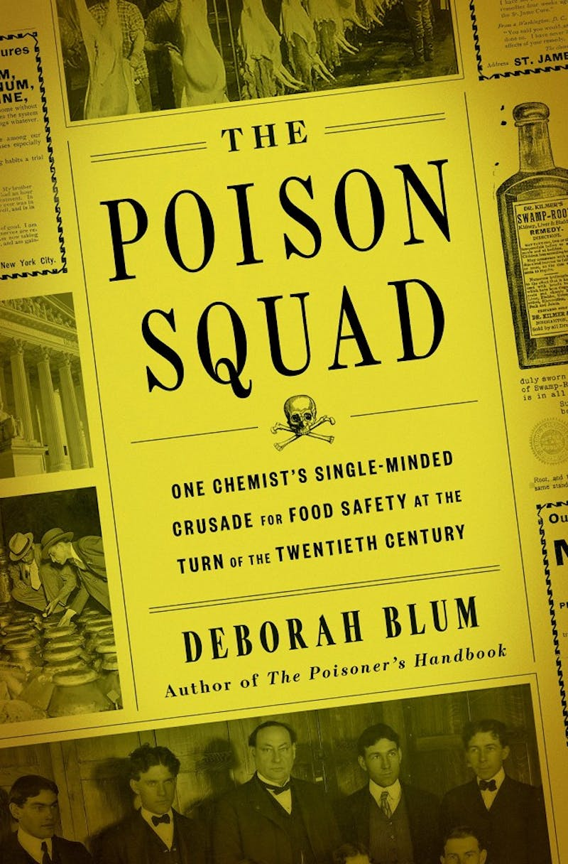 """Deborah Blum stopped by campus to offer food for thought about her novel, """"Poison Squad."""""""