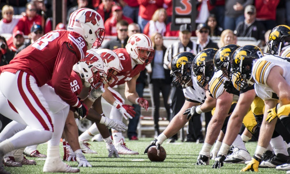 The Wisconsin–Iowa rivalry is typically decided by play in the trenches, an area where Wisconsin will need to bounce back after a poor performance against BYU.