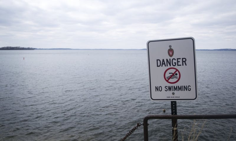 Lake Mendota is a favorite hangout spot for UW-Madison students during the summer.