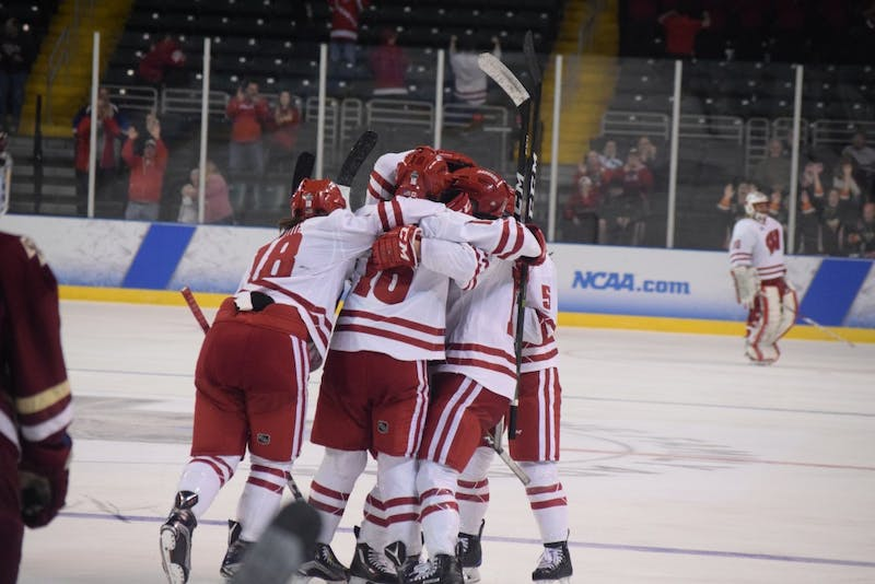 The Badgers fell to No. 2 in the most recent poll, after losing both games to Minnesota last weekend.