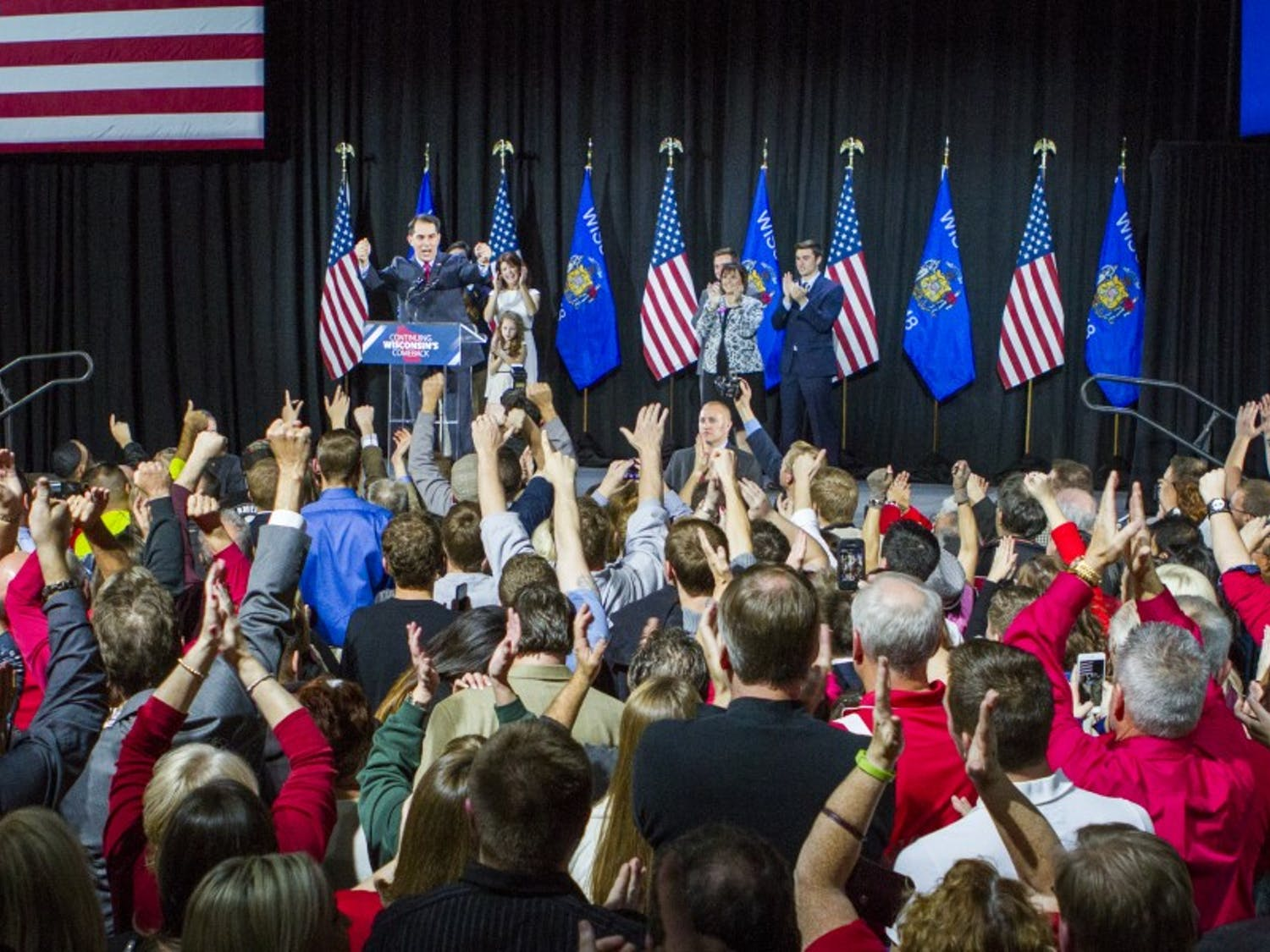 Gov. Scott Walker said in an interview Tuesday that he is strongly considering running for a third term.