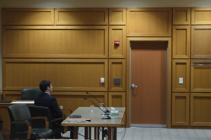 Former UW-Madison student Alec Cook will serve three years in prison after pleading guilty to five felonies which he committed during his time at UW-Madison.